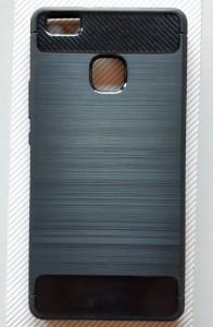 """TPU maska BRUSHED za Huawei P9 lite 2016 (5.2""""), crna"""