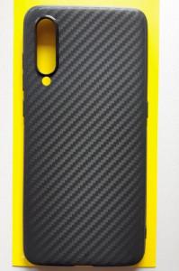 """TPU maska CARBON 0.3mm ultra tanka za Xiaomi Mi 9 2019 (6.39"""") crna"""