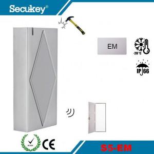 Metalna vodootporna samostalna kontrola pristupa karticom Secukey S5-EM