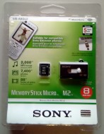 SONY MS micro M2 plus USB čitač/pisač  - 8 Gb -