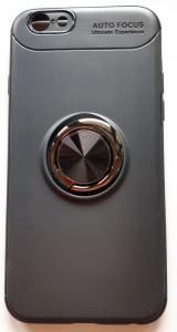 """TPU Magnet RING maska za za iPhone 6, iPhone 6S (4.7"""") crna"""