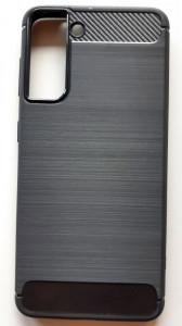 "TPU maska BRUSHED za SAMSUNG SM-G991F, Galaxy S21 2021 (6.2"") crna"
