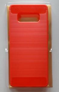 TPU maska BRUSHED za SM-N950F Galaxy Note 8, Red