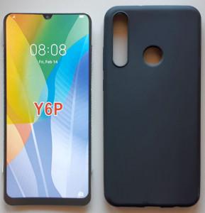 "TPU maska Pudding za Huawei Y6p 2020 (6.3"") crna"