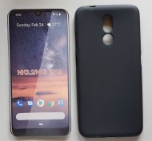 "TPU maska PUDDING za Nokia 3.2 2019 (6.26""), crna"