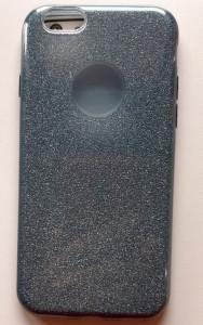 """TPU maska SPARKLY SHINE za iPhone 6, iPhone 6S (4.7"""") tamno siva"""