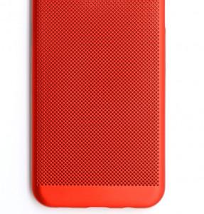 TPU/PC BREATH maska za Huawei P20, crvena