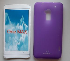 "TPU Pudding maska za HTC One Max (5.9"") 2013, ljubičasta"