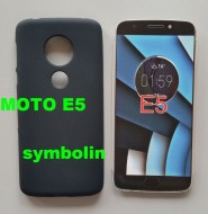TPU Pudding maska za Motorola MOTO E5, G6 Play, crna
