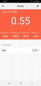 Vremenski prekidač TAJMER Wi-Fi smart utičnica WFU-M6PM s meračem potrošnje