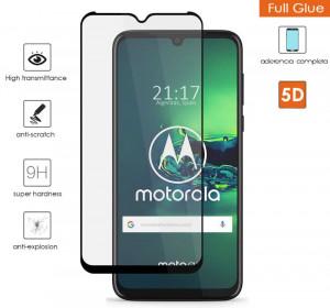 "Zaštitno, kaljeno staklo 5D Full Glue za Moto G8 PLUS 2020 (6.3"") zakrivljeno"