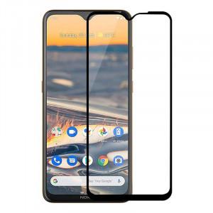 "Zaštitno kaljeno staklo 5D Full Glue za Nokia 5.3 2020 (6.55"") crni rub"