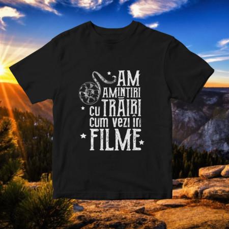 AM AMINTIRI CU TRAIRI CUM VEZI IN FILME [TRICOU] *LICHIDARE STOC*