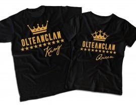 """OLTEANCLAN KING&QUEEN [set tricouri]+ album """"Safir""""gratuit semnat"""