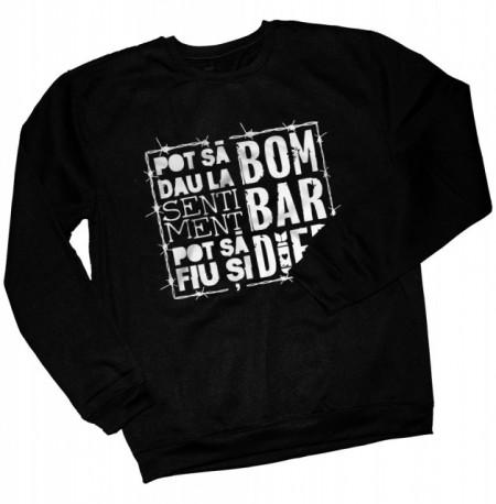 """Pot sa fiu si bombardier [bluza] + album """"Safir""""gratuit semnat"""