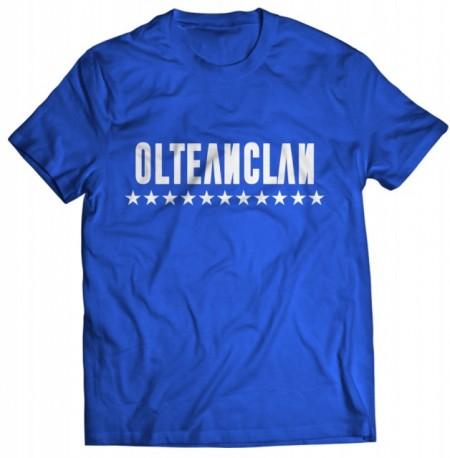 """Tricou OLTEANCLAN [blue] + ALBUM """"SAFIR"""" GRATUIT SEMNAT"""