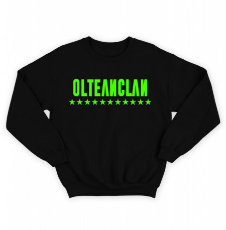 "Olteanclan green [bluza] + album ""Safir""gratuit semnat"