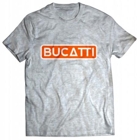 Tricou Bucatti [Orange/grey]