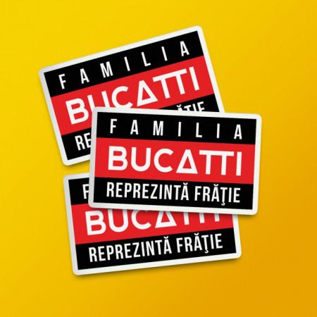 """Pack stickere """"Familia Bucatti"""""""