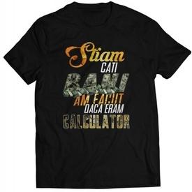 "Daca eram calculator [tricou] + ALBUM ""SAFIR"" GRATUIT SEMNAT"