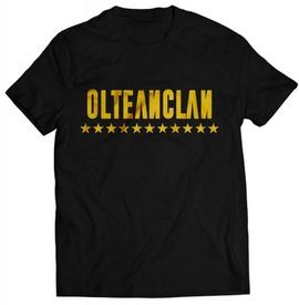 "OLTEANCLAN golden tshirt + ALBUM ""SAFIR"" GRATUIT SEMNAT"