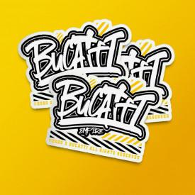 """Pack stickere """"Bucatti Empire"""""""