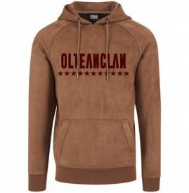 OLTEANCLAN PREMIUM [brown hoodie] [PRECOMANDA]
