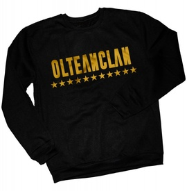 OLTEANCLAN golden sweatshirt