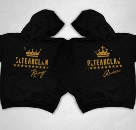 "OLTEANCLAN KING&QUEEN [set hanorace] + album ""Safir""gratuit semnat"