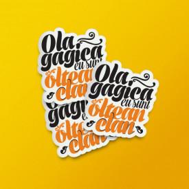 """Pack stickere """"Ola, gagica"""""""