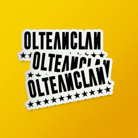 "Pack stickere ""Olteanclan"""