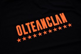 "Tricou Olteanclan [orange] + ALBUM ""SAFIR"" GRATUIT SEMNAT"
