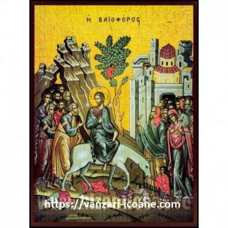 Icoana Intrarea Domnului in Ierusalim