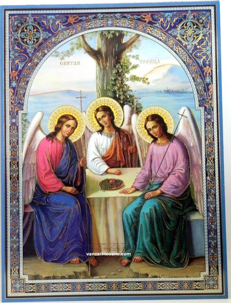 Icoana Sfânta Treime- Taina iubirii desăvârșite