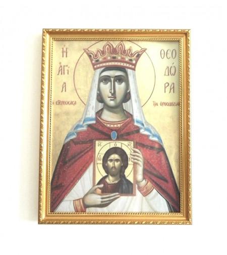 Icoana Sfintei Imparatease Teodora