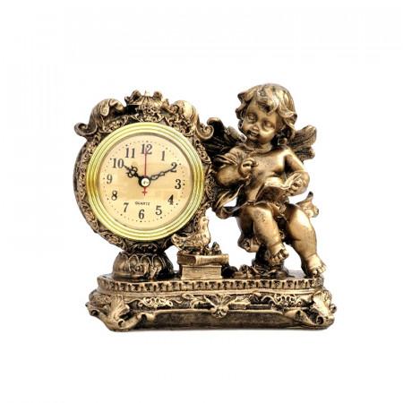 Statueta din rasina Ingeras cu ceas