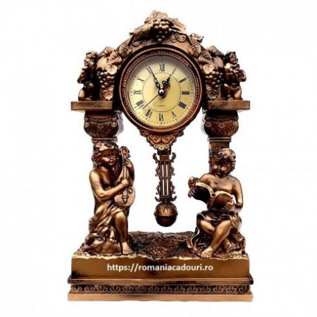 Ceas decorativ din rasina cu Ingeri