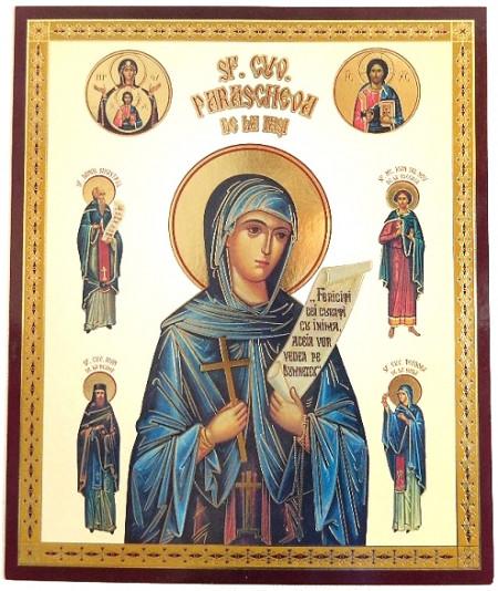 Icoana Ortodoxa Sfanta Parascheva