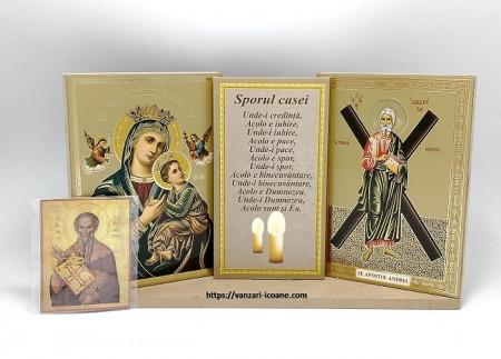 Icoane binecuvantarea Maica Domnului si Sfantul Andrei
