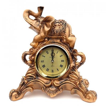 Ornament rasina Elefant cu ceas