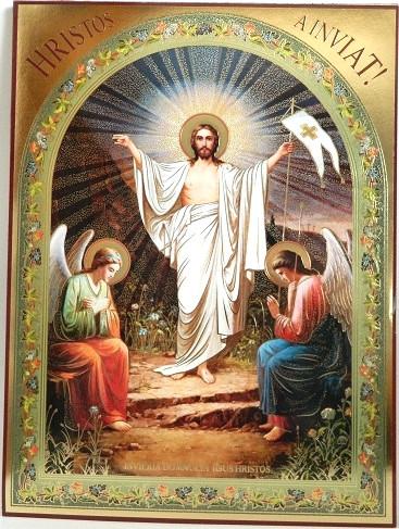 Icoana Invierea Domnului 18×15 cm