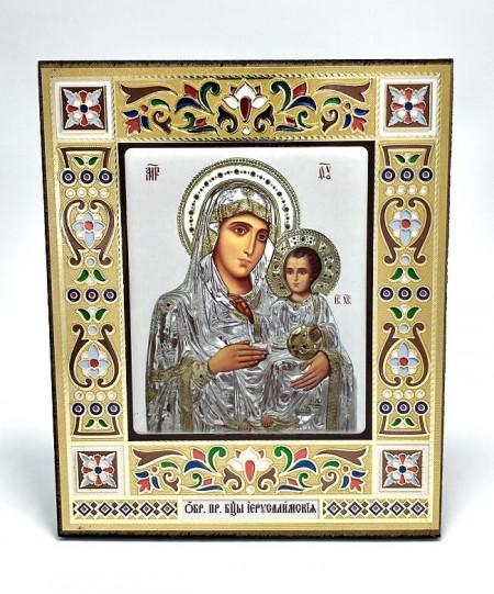 Icoana pe lemn Maica Domnului de la Jerusalem