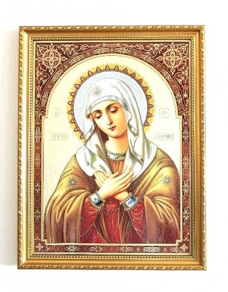 Icoana Ortodoxa a Maicii Domnului Umilenie