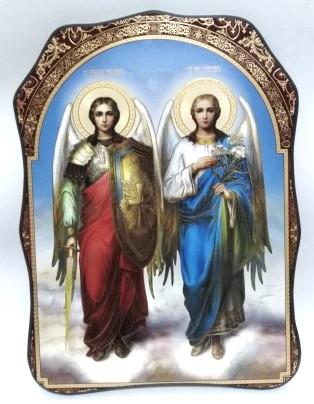 Icoana ortodoxa Sfintii Mihail si Gavriil