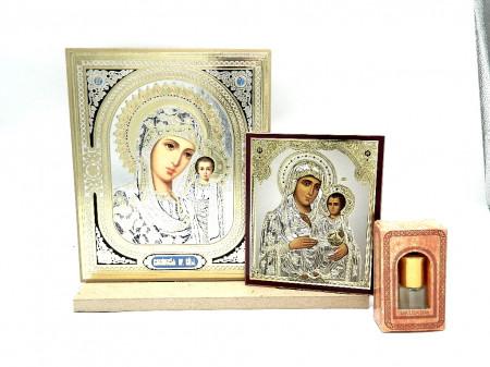 Set icoane sfintite Maica Domnului si cadouri