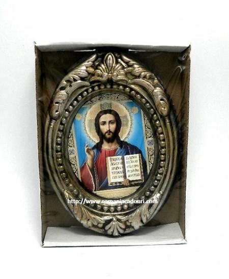 Icoana ceramica Iisus din Kazan binrcuvantand