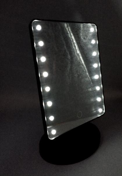 Oglinda cu LEDURI pentru make-up