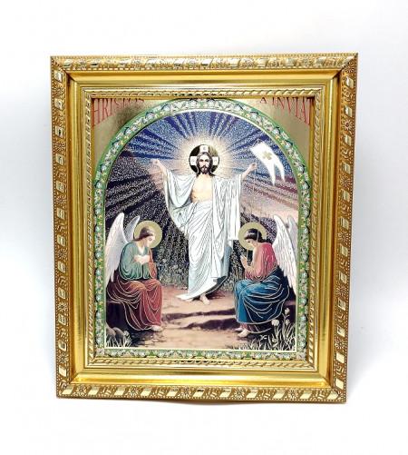 Icoana Invierea Domnului Iisus in rama