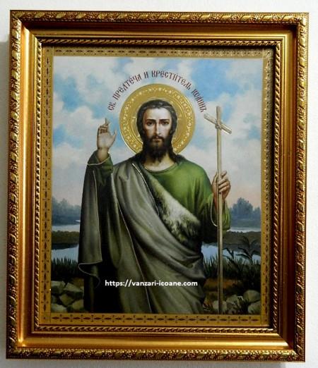 Icoana Sfantului Ioan Botezatorul in rama