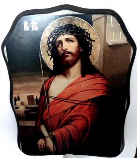 Icoana ortodoxa Iisus Hristos legat